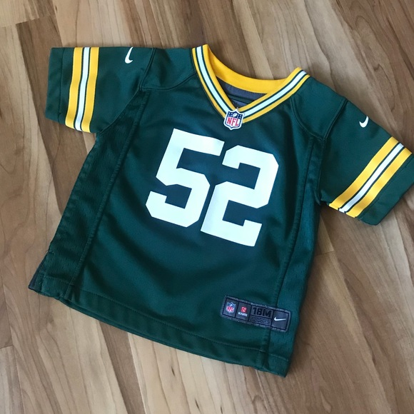 online store 32294 cde63 Infant Green Bay Packers Clay Matthews Jersey